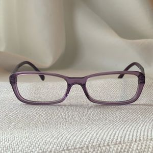 CHANEL Accessories - FINAL PRICE Chanel Holographic Purple Eyeglasses